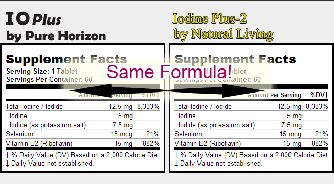 Compare IOPlus and Iodine Plus-2