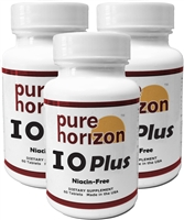 IOPlus by Pure Horizon - 3 Bottle Pack - 60 Tablets