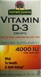 Vitamin D-3 Drops by Nature's Answer