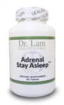 Adrenal Stay Asleep by Dr. Lam - 60 Tablets - 1 Bottle