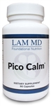 Pico Calm by LAM MD - 90 Capsules - 1 Bottle