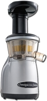 Vertical Masticating HD Juicer - Silver - by Omega