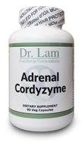 Adrenal Cordyzyme by Dr. Lam - 90 Veg Capsules - 1 Bottle