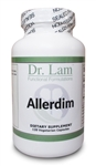 Allerdim by Dr. Lam - 120 Vegetarian Capsules - 1 Bottle