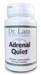 Adrenal Quiet by Dr. Lam - 60 Vegetarian Capsules - 1 Bottle