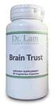Brain Trust by Dr. Lam - 60 Vegetarian Capsules - 1 Bottle