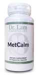 MetCalm by Dr. Lam - 60 Vegetarian Capsules - 1 Bottle