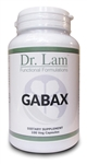 GABAX by Dr. Lam - 100 Veg Capsules - 1 Bottle
