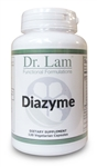 Diazyme by Dr. Lam - 120 Vegetarian Capsules - 1 Bottle