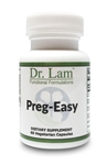 Preg-Easy by Dr. Lam - 60 Vegetarian Capsules - 1 Bottle