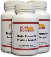 Male Formula by Pure Horizon - 90 Softgels - 3 Bottle Pack
