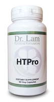 HTPro by Dr. Lam - 60 Vegetarian Capsules - 1 Bottle