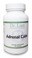 Adrenal Calm by Dr. Lam (New Formula) - 90 Capsules - 1 Bottle
